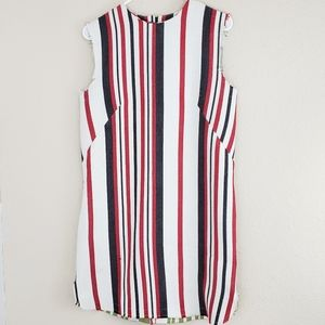 Asos Tunic Dress Striped Frayed Festival 10